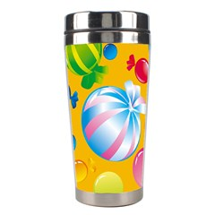 Sweets And Sugar Candies Vector  Stainless Steel Travel Tumblers by BangZart