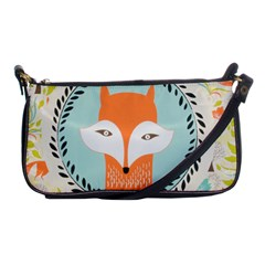 Foxy Fox Canvas Art Print Traditional Shoulder Clutch Bags