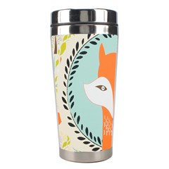 Foxy Fox Canvas Art Print Traditional Stainless Steel Travel Tumblers by BangZart