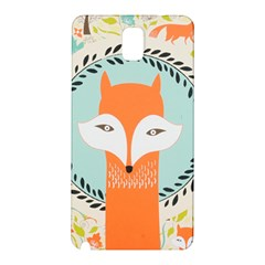 Foxy Fox Canvas Art Print Traditional Samsung Galaxy Note 3 N9005 Hardshell Back Case