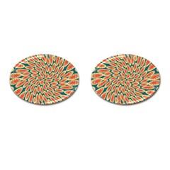 Stars Twirl Cufflinks (oval) by linceazul
