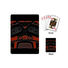 Traditional Northwest Coast Native Art Playing Cards (mini)  by BangZart