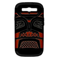 Traditional Northwest Coast Native Art Samsung Galaxy S Iii Hardshell Case (pc+silicone)