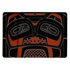Traditional Northwest Coast Native Art Samsung Galaxy Tab 10 1  P7500 Flip Case