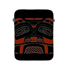 Traditional Northwest Coast Native Art Apple Ipad 2/3/4 Protective Soft Cases