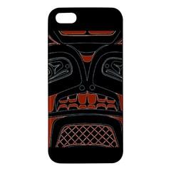Traditional Northwest Coast Native Art Iphone 5s/ Se Premium Hardshell Case