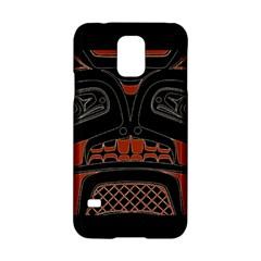 Traditional Northwest Coast Native Art Samsung Galaxy S5 Hardshell Case  by BangZart