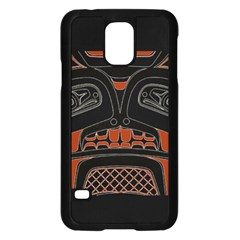 Traditional Northwest Coast Native Art Samsung Galaxy S5 Case (black)