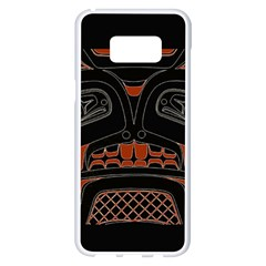 Traditional Northwest Coast Native Art Samsung Galaxy S8 Plus White Seamless Case by BangZart