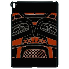 Traditional Northwest Coast Native Art Apple Ipad Pro 9 7   Black Seamless Case