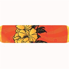 Vector Asian Flowers Large Bar Mats
