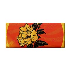 Vector Asian Flowers Cosmetic Storage Cases
