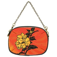 Vector Asian Flowers Chain Purses (two Sides)