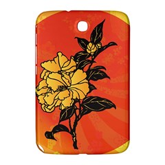 Vector Asian Flowers Samsung Galaxy Note 8 0 N5100 Hardshell Case