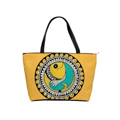 Madhubani Fish Indian Ethnic Pattern Shoulder Handbags