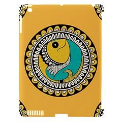 Madhubani Fish Indian Ethnic Pattern Apple Ipad 3/4 Hardshell Case (compatible With Smart Cover) by BangZart