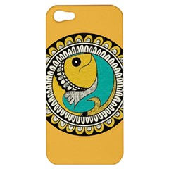 Madhubani Fish Indian Ethnic Pattern Apple Iphone 5 Hardshell Case