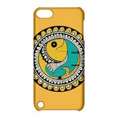 Madhubani Fish Indian Ethnic Pattern Apple Ipod Touch 5 Hardshell Case With Stand