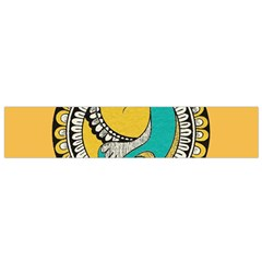 Madhubani Fish Indian Ethnic Pattern Flano Scarf (small)