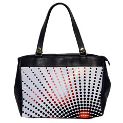 Radial Dotted Lights Office Handbags