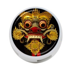 Bali Mask 4 Port Usb Hub (two Sides)