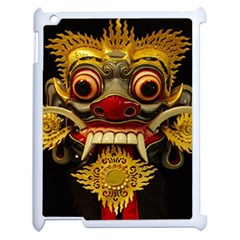 Bali Mask Apple Ipad 2 Case (white)