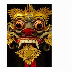 Bali Mask Large Garden Flag (two Sides)