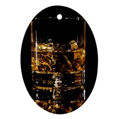 Drink Good Whiskey Ornament (oval) by BangZart