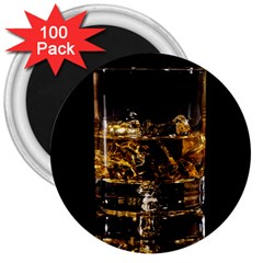 Drink Good Whiskey 3  Magnets (100 Pack) by BangZart