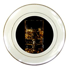 Drink Good Whiskey Porcelain Plates by BangZart