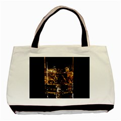 Drink Good Whiskey Basic Tote Bag (two Sides)