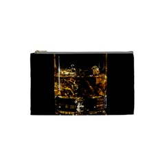 Drink Good Whiskey Cosmetic Bag (small)