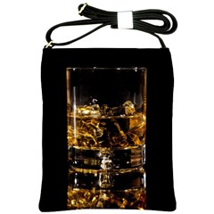Drink Good Whiskey Shoulder Sling Bags by BangZart