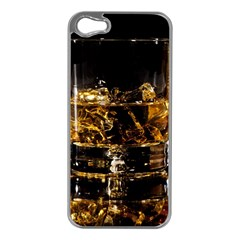 Drink Good Whiskey Apple Iphone 5 Case (silver)