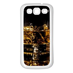 Drink Good Whiskey Samsung Galaxy S3 Back Case (white)