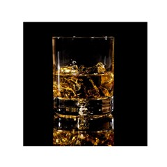 Drink Good Whiskey Small Satin Scarf (square) by BangZart