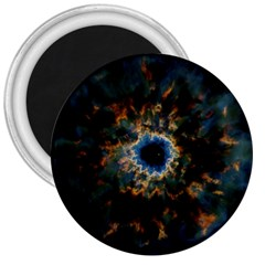 Crazy  Giant Galaxy Nebula 3  Magnets by BangZart