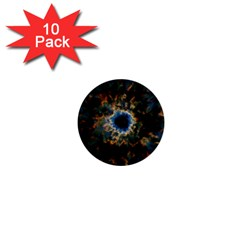 Crazy  Giant Galaxy Nebula 1  Mini Buttons (10 Pack)