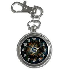 Crazy  Giant Galaxy Nebula Key Chain Watches