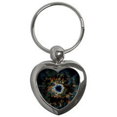Crazy  Giant Galaxy Nebula Key Chains (heart)