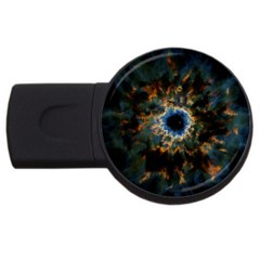 Crazy  Giant Galaxy Nebula Usb Flash Drive Round (4 Gb)