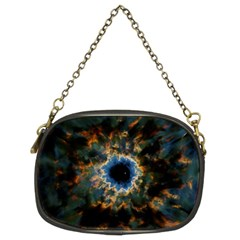 Crazy  Giant Galaxy Nebula Chain Purses (two Sides)