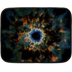 Crazy  Giant Galaxy Nebula Fleece Blanket (mini)