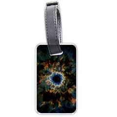 Crazy  Giant Galaxy Nebula Luggage Tags (two Sides)
