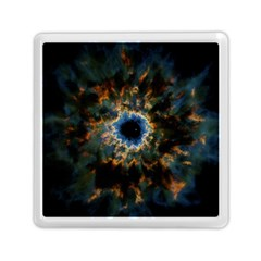 Crazy  Giant Galaxy Nebula Memory Card Reader (square)  by BangZart