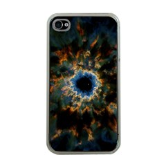 Crazy  Giant Galaxy Nebula Apple Iphone 4 Case (clear)