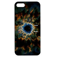 Crazy  Giant Galaxy Nebula Apple Iphone 5 Hardshell Case With Stand by BangZart