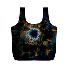 Crazy  Giant Galaxy Nebula Full Print Recycle Bags (m)  by BangZart