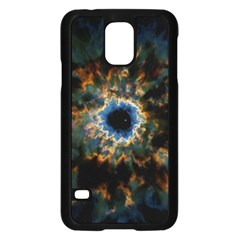 Crazy  Giant Galaxy Nebula Samsung Galaxy S5 Case (black)