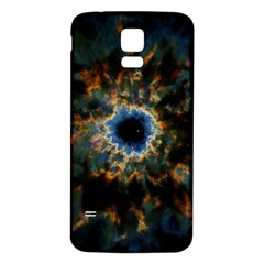 Crazy  Giant Galaxy Nebula Samsung Galaxy S5 Back Case (white)